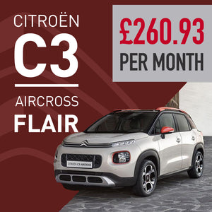C3 Aircross Flair Manual Cosmic Silver Offer