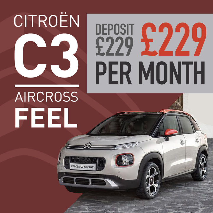 Citroën C3 Aircross Feel PureTech 110 S&S 6 Speed Manual