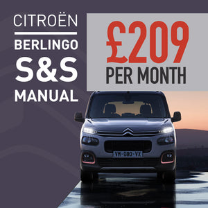 Citroen Berlingo PureTech 110 S&S Manual