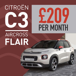 Citroen C3 Aircross SUV Hatchback 1.2 PureTech 110 Flair 5dr [6 speed]