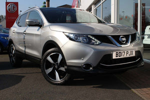 Nissan Qashqai 1.5 dCi N-Vision 5dr (18in Alloys)