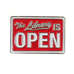 The Library is Open Pin: Series 2