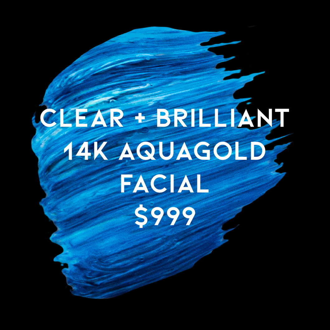 *CJ LASER EXCLUSIVE* Clear + Brilliant & 14K AQUAGOLD Facial