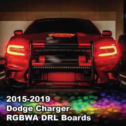 2015-2019 Dodge Charger RGBWA DRL Boards