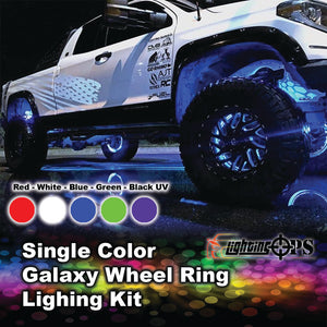 Single Color Galaxy Wheel Rings