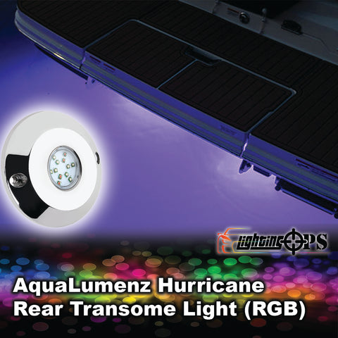 AquaLumenz Hurricane Rear Transom Light (RGB)