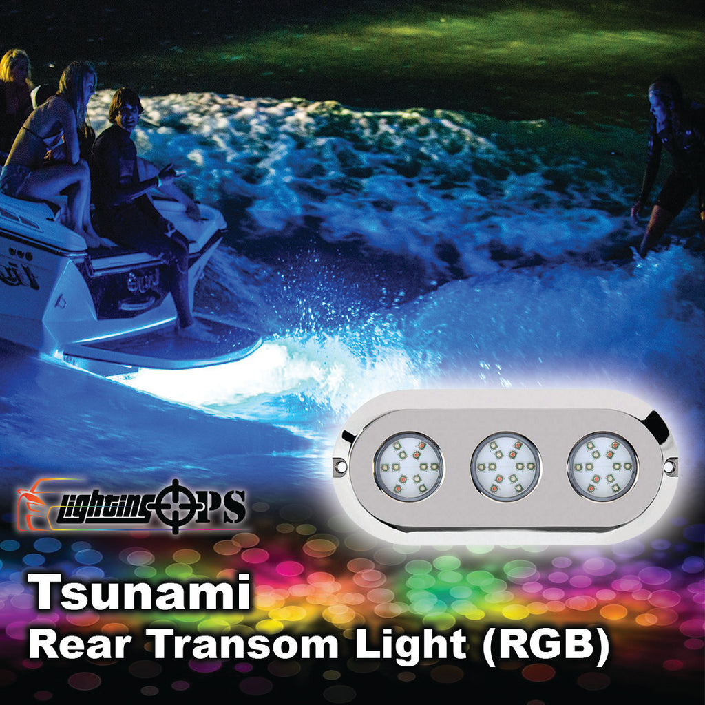 Tsunami Rear Transom Light  (RGB)