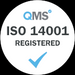 ISO14001 Accredited