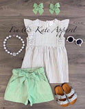 Mint 4 U shorts set