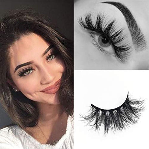 3D Mink Eyelashes Fluffy