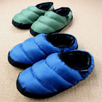 Winter Men&Women Slippers Home Plush Indoor Ladies Shoes House Female Fuzzy Black Slippers Flip Flops Slides