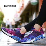 2018 Women sneakers Flat casual shoes Unisex Breathable mesh Air damping woman fashion lover leisure tenis feminino size 36-44