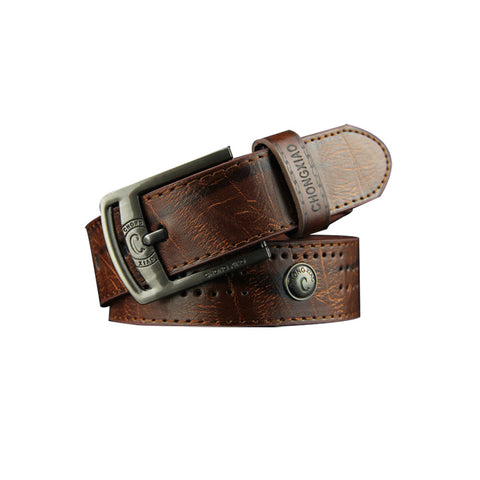 Poetable Retro Fashion Luxury Men Design Belts