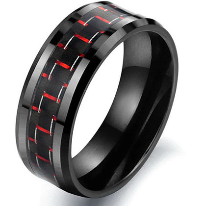 Fierce Black Men's Ring
