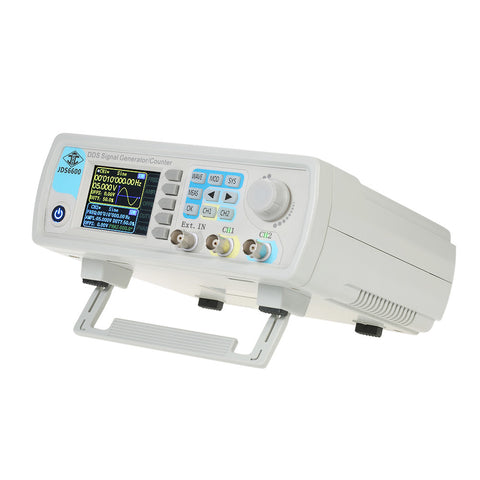 High Precision Digital Dual-channel DDS Function Signal Generator Arbitrary Waveform Pulse Signal Generator 1Hz-100MHz Frequency Meter 200MSa/s 40MHz