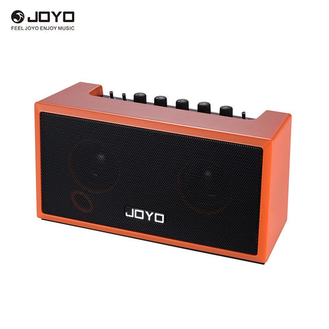 JOYO TOP-GT Mini Bluetooth 4.0 Guitar Amplifier Amp Speaker 2 * 4W with Built-in Rechargeable Lithium Battery for iPhone iPad iOS Devices Guitar APP Smartphone MP3