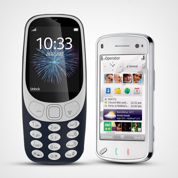 Combo of CLASSIC 3310 2.4 INCHES + IMPORTED N97 COMMUNICATOR