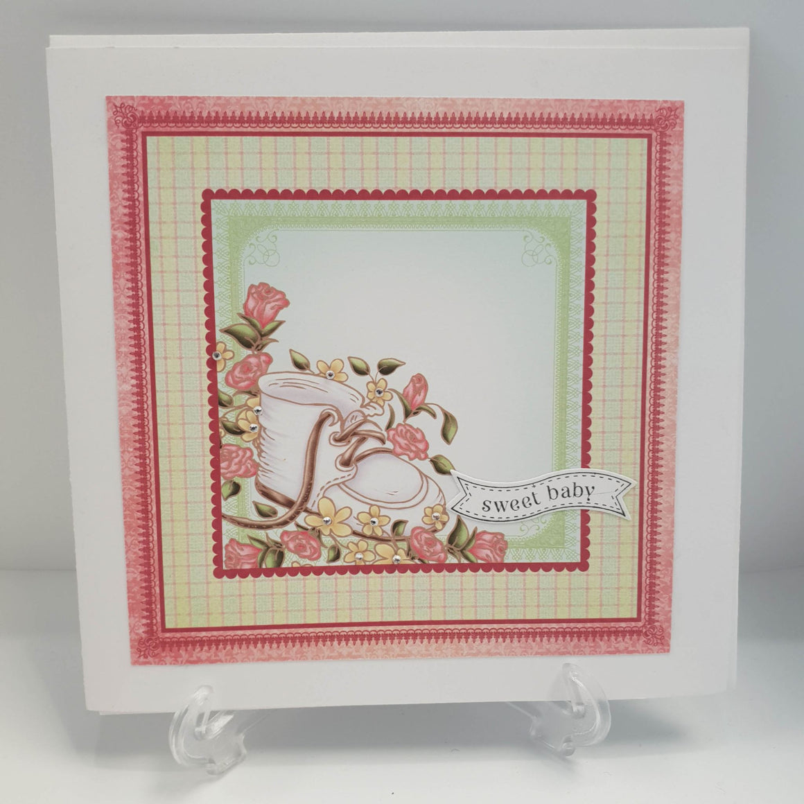 Handcrafted Baby Cards - NZ Gift Hutt