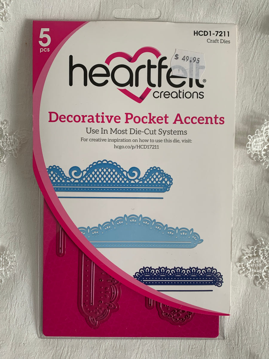 Heartfelt Creations Decorative Dies
