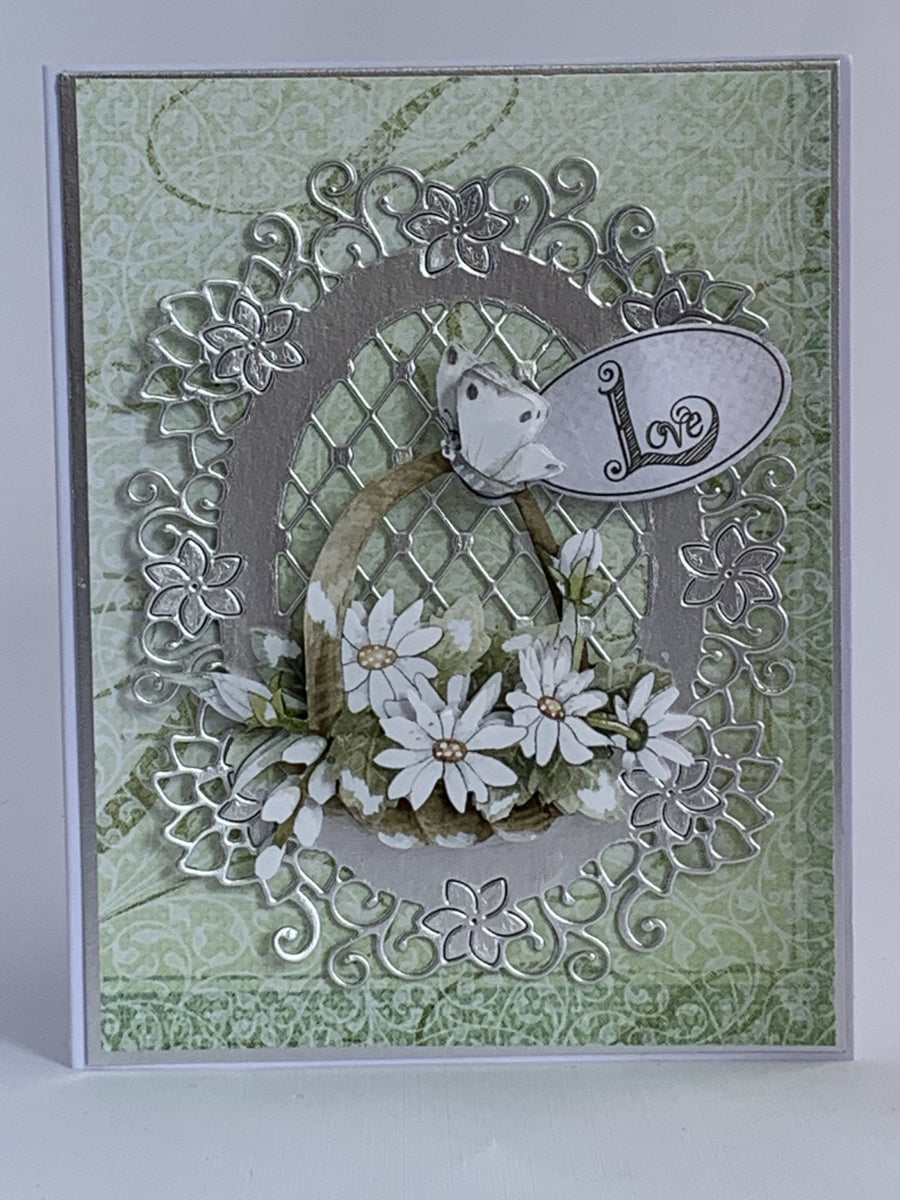 Timeless Flowers 3D Push Out by Precious Marieke - NZ Gift Hutt