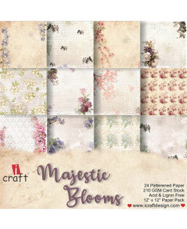 iCraft Majestic Blooms Collection - NZ Gift Hutt