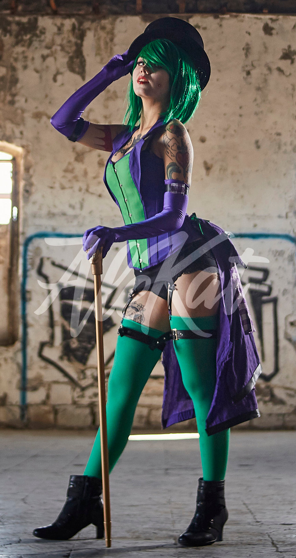 Cosplay Female Joker - Ale Kat