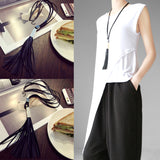New Women Trendy Simple Style Black
