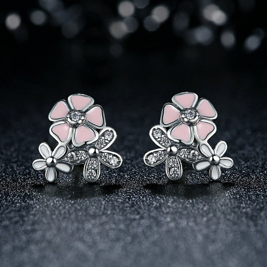 HOMOD 2018 Presents Silver Color Mickey Earrings