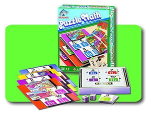 Mighty Mind Puzzle Math Ages 4-8 (1- 4 children) (#40500) by Leisure Learning