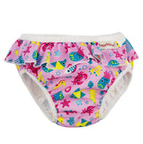 ImseVimse Ruffle Snap Reusable Swim Diaper for Baby and Toddler Girls