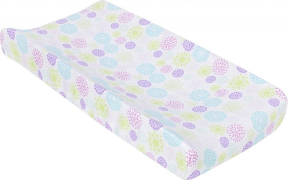 MiracleWare Muslin Changing Pad Cover, Color Bursts
