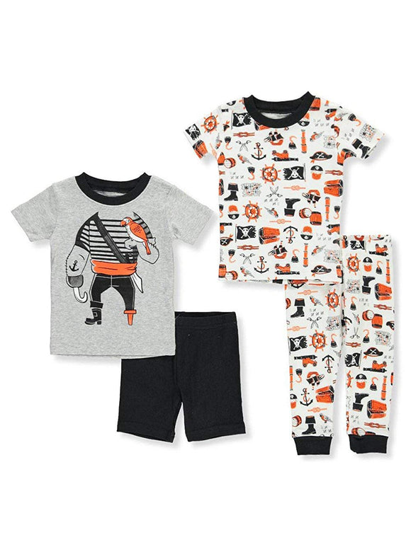 Carter's Baby Boys' 4 Piece Cotton Sleepwear