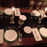"Imagination Starters Reusable Table Runner 16""x72""- Perfect for Entertaining and Holiday Parties- Cleans Easily"
