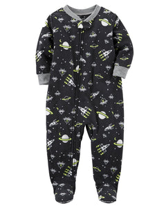 Carters Baby Boys 1 Pc Fleece 327g106 (12 Months, Black Space)