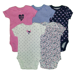 Carter's Baby Girls' 5 Pack Bodysuits (Baby)