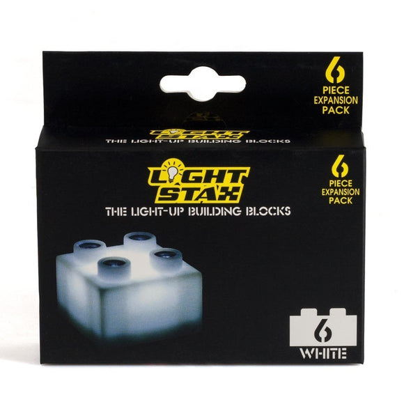 The Light Stax Expansion Pack - White (Containing 6 Blocks)
