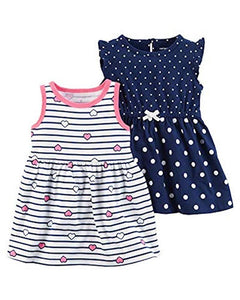 Carter's Baby Girls' 2 Pk 121h335