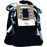 Hello Mello Trendy Womens Loungewear Tops, Long Sleeve With Tote Bag
