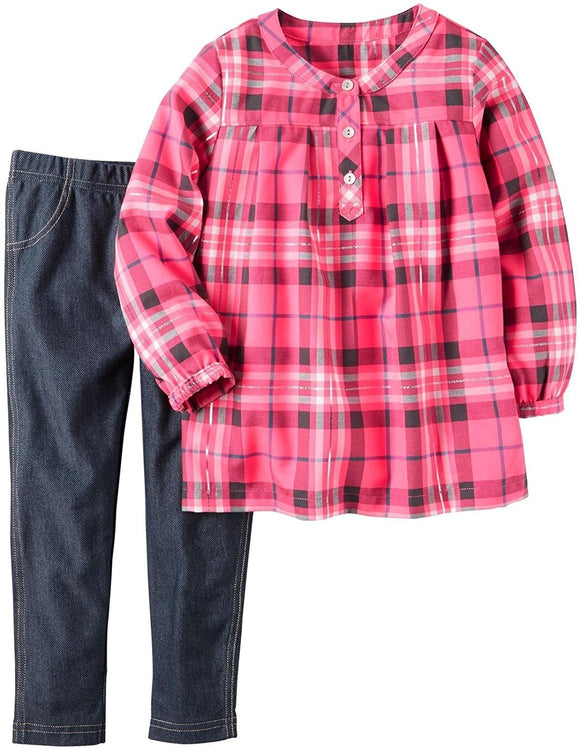 Carter's Baby Girls' 2 Piece Playwear Sets