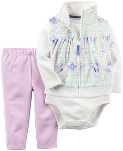 Carter's Baby Girls' Vest Sets 121g794