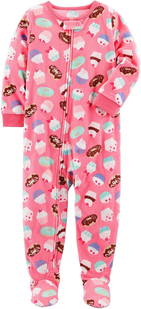 Carters Baby Girls Microfleece 115g166 (2T, Pink Cupcakes)