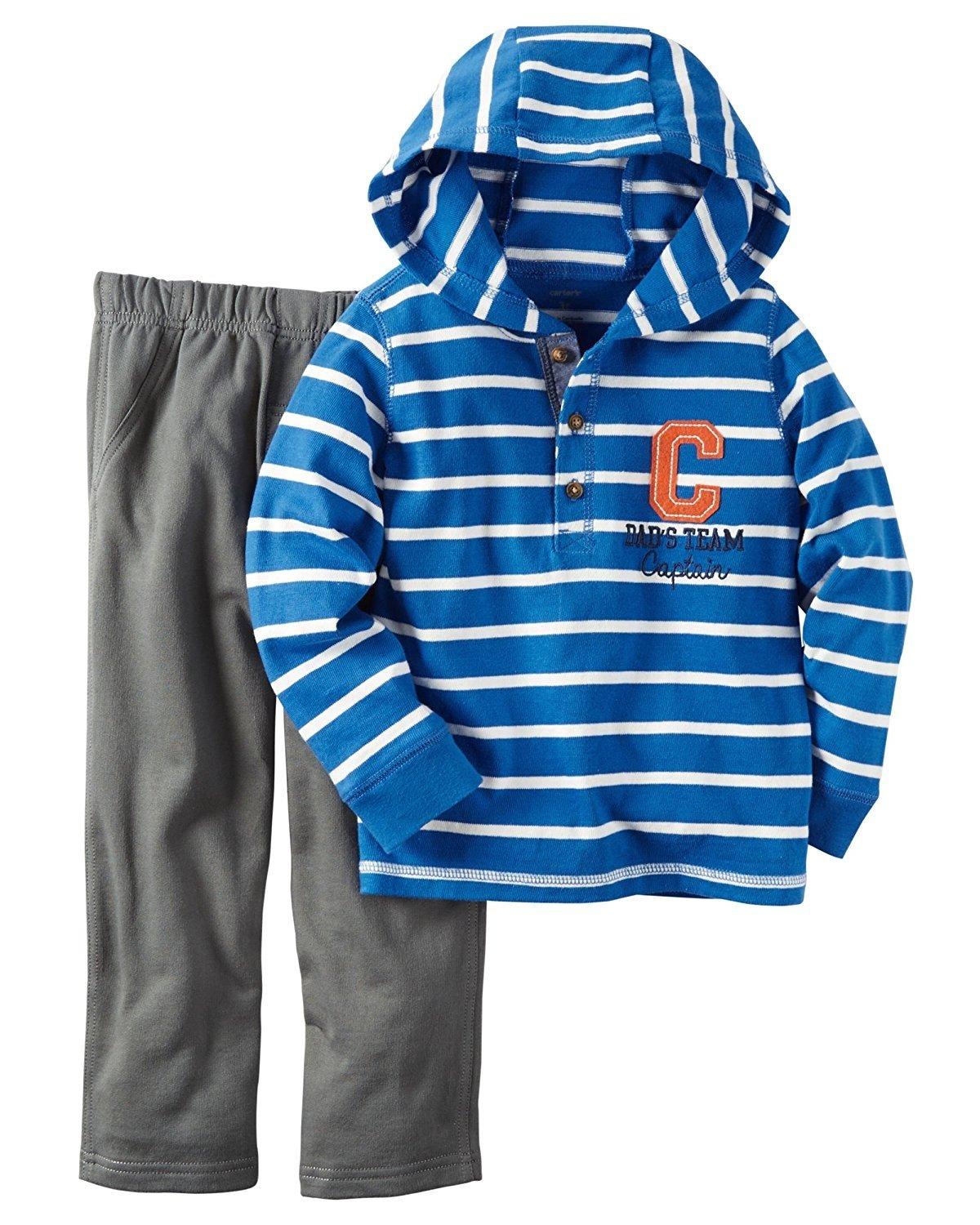 b64169c70 Carter's Baby Boys' 2 Piece Plaid Woven Top and Pants Set – Just ...