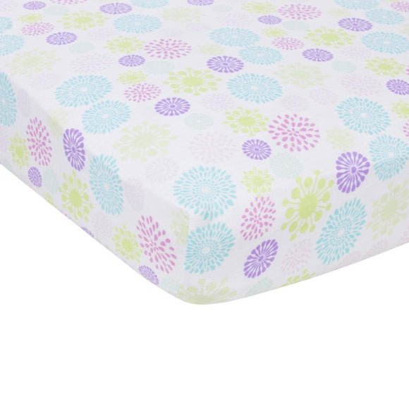 MiracleWare Blanket Muslin Crib Sheet, Color Bursts