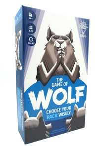 The Game of Wolf Trivia Game by Gray Matters Games