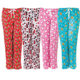 Hello Mello Holiday Lounge Pants w/ Matching Giftable Tote - Womens Sizes