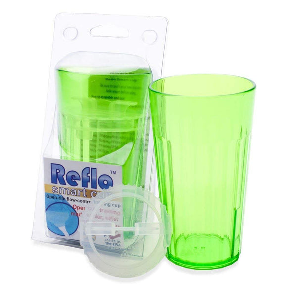 Reflo Smart Cup With Open Rim Flow Control, Training Cup for Kids 6 Month and Up