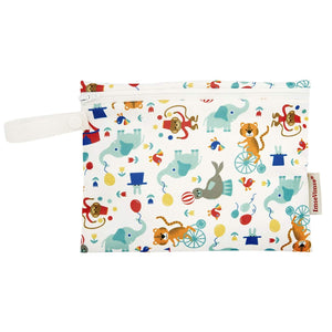 Imse Vimse Reusable Washable Wet Bags for Cloth Diapers (Circus, Mini Zipper Bag)