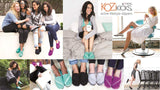 KOZiKICKS Active Slippers for Women, by FITKICKS
