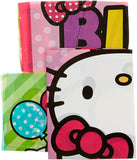 "Amscan 670369 Scene Setters Wall Decorating Kit | Hello Kitty Rainbow Collection | Birthday 59"" x 65"" 5 per package"