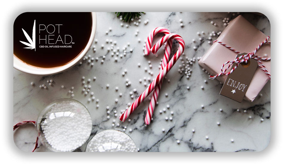 Candy Cane Gift Card